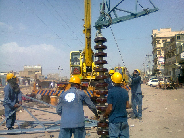Civil Work, Erection Stringing, Testing & Commissioning of 500kV D/C Quad bundle Transmission Line from HUBCO Power Plant To Existing 500kV Jamshoro Grid Station (In Hand)